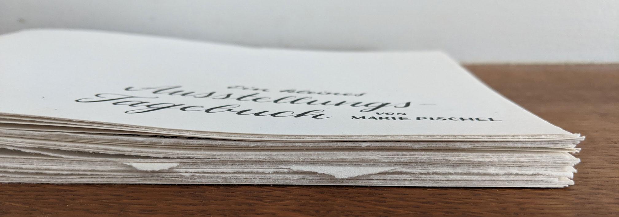 Ausstellungs-Tagebuch